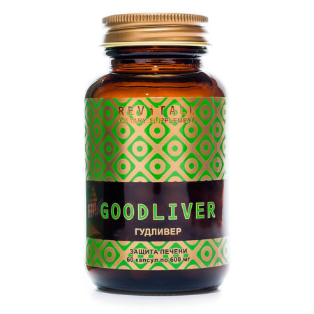 Поддержка функций печени. Revitall GOODLIVER (60 капсул)