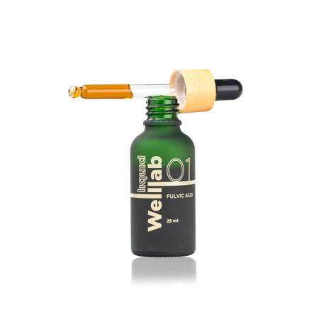 Природный концентрат фульвовых кислот Welllab liquid Fulvic acid, 25 мл