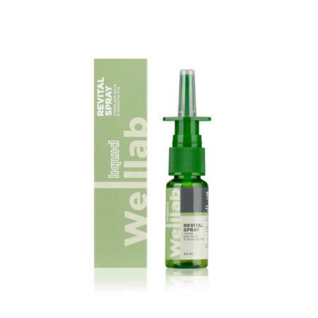 Спрей для носа и полости рта Welllab Liquid Revitall spray/ Гигиенический спрей, 20 мл