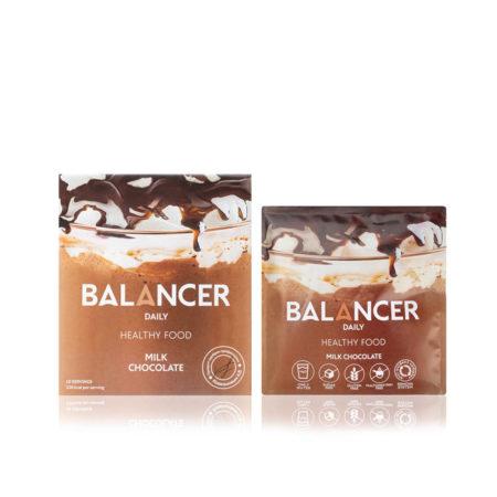 Коктейль Balancer со вкусом «Молочный шоколад», 10 шт.