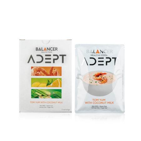 Коктейль BALANCER ADEPT со вкусом «Тайский суп том ям», 5 шт.