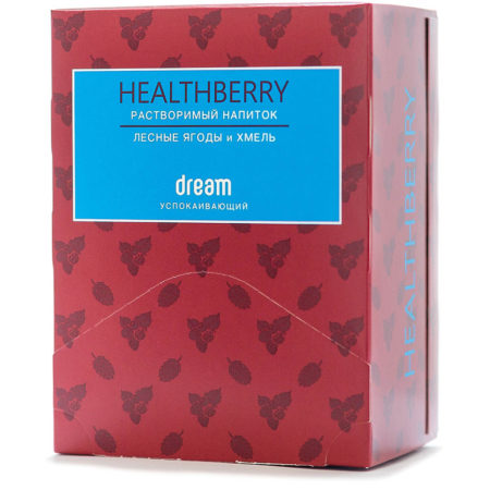 Успокаивающий растворимый напиток Healthberry Dream