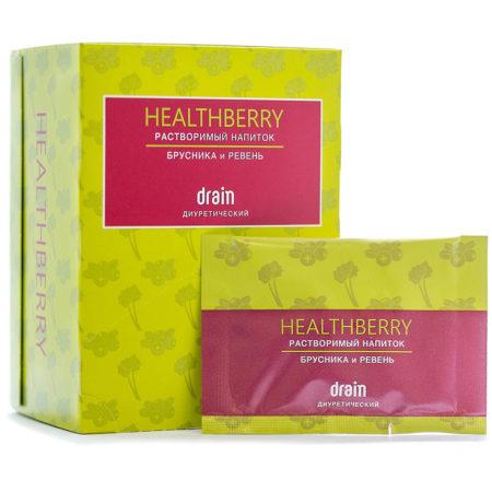 Диуретический растворимый напиток Healthberry Drain