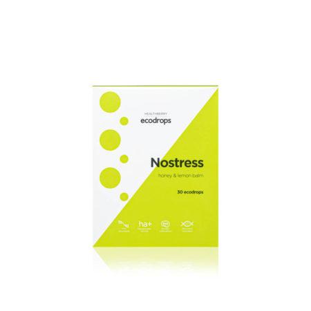 Карамель леденцовая Healthberry Ecodrops Nostress, 30 шт