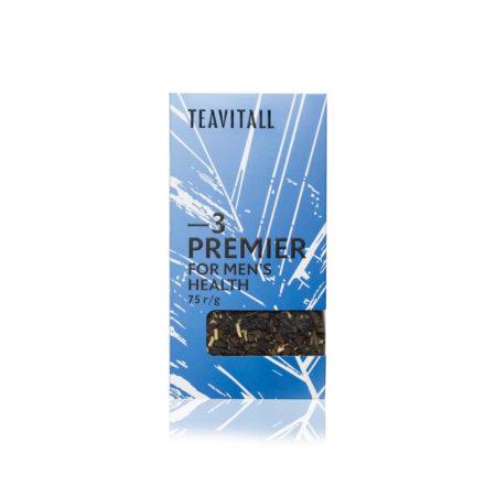 Чайный напиток для мужского здоровья TeaVitall Premier 3, 75 г.