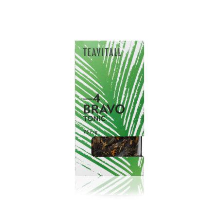 Чайный напиток тонизирующий TeaVitall Bravo 4, 75 г.