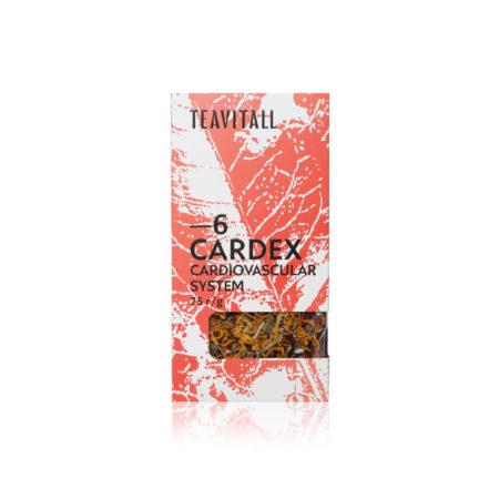 Чайный напиток для сердечно-сосудистой системы TeaVitall Cardex 6, 75 г.