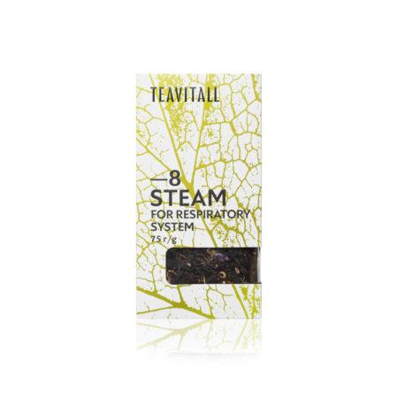 Чайный напиток для дыхательной системы TeaVitall Steam 8, 75 г.