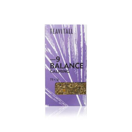Чайный напиток успокаивающий TeaVitall Balance 9, 75 г.