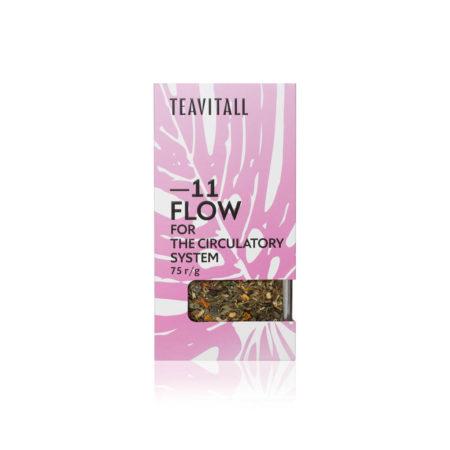Чайный напиток для укрепления кровеносной системы TeaVitall Flow 11, 75 г.
