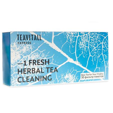 Чайный напиток очищающий TeaVitall Express Fresh 1