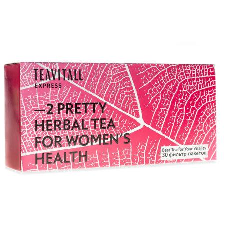 Чайный напиток для женского здоровья TeaVitall Express Pretty 2