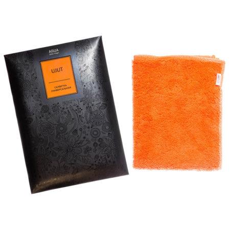 Салфетка универсальная AQUAmagic Ujut оранжевая