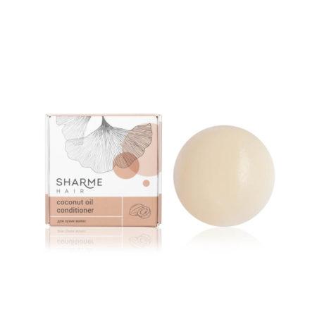 Натуральный твердый кондиционер Sharme Hair Coconut Oil (кокосовое масло)