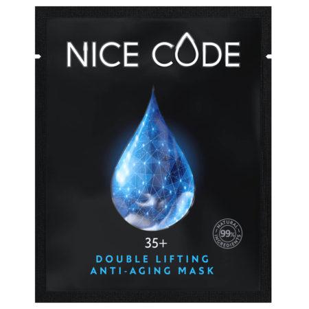 Тканевая маска Double Lifting Anti-Aging с уникальным компонентом пуллулан и комплексом гиалуроновых кислот