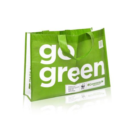 Многоразовая сумка из переработанного океанического пластика Сумка Eco Shopper big