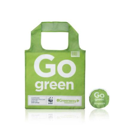 Многоразовая сумка из переработанного океанического пластика Сумка Eco Shopper compact
